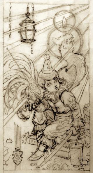 Sketch_Annunciation_web